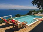 Unforgettable blue ocean views abound from this exquisite villa. MAT TOA