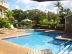 Grand Champions #151 is a1 Bd 2 Ba fronting the Wailea Golf Course. Sleeps 4.