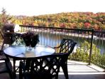 Enjoy fabulous fall colors from your condo balcony!  Absolutely stunning! -- www.MyLakeCondo.com