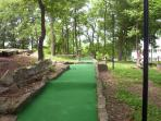 FREE Mini-Golf on property.  Included with your condo rental.  -- www.MyLakeCondo.com