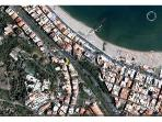 Arial view - Use the prdestrian walkway for fast beach access!