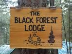 Black Forest Lodge- Relax and enjoy the hot tub!