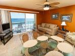 PI 506:Lovely beachfront condo- internet, pool, beach view,Free Beach Service