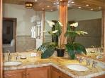 OPPULENT MARBLE BATHROOM AT YOUR LUXURY VACATION HOUSE