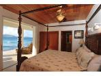 BEDROOM ON THE BEACH AT STERLING HOUSE BRITISH VIRGIN ISLANDS