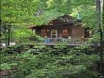 Bryson City, North Carolina - A-Frame Chalet
