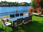 Spectacular Outdoor Dining w/Seating For Eight Offering Breathtaking Views...