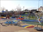 Playpark at the Marine Gardens - a short walk from Fools Haven