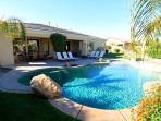 'Cascade' Private Pool & Spa, Misters