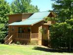 Cherokee Rose is a Cozy secluded Cabin for a perfect getaway
