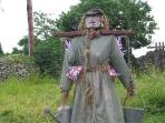 Scarecrow festival at Sedgwick