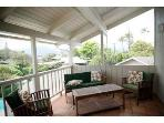 Sitting area on master suite lanai ~ over looks pool and Ko\\\'olua mountains