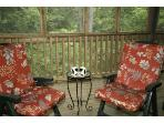 Coffee for 2 on our screend porch - now that\'s relaxing
