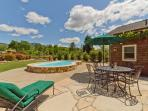 Detached Guest/Pool House - poolside