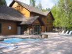 Whitefish, Montana Deluxe Cabin Style Townhome