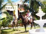 Horsebackriding from the Villa