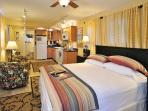 This Studio Apartment Set up is Great for Short Stays or Long Ke