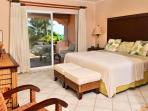 Master bedroom is oceanfront with terrace access
