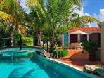 L'Embellie Villa - Secluded villa with cottage on an acre of lush gardens & freshwater pool