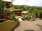 View of Villa and surrounding Cap Estate...St.Lucia's Hollywood Hills.