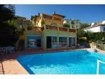 Villa on the Cote D'Azur with glorious sea views