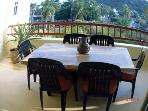 Comfortable Dining on the Balcony