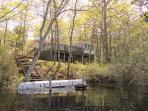 4 BR House on Beautiful Picture Lake on Cape Cod