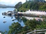 Portree Harbour, only a short walk away