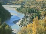 Shotover River surrounds the Trelawn property