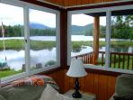 View from Country Comfort livingroom-Summer