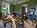 A wonderful room to relax in by the fire with a read or a card game with friends.