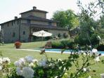 Archipettoli view from the pool