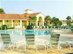 Club house with relaxing pool
