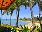 Oceanfront Sunny Poipu Ground Level Large Lanai!