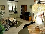 Bougainvillea living and dining area