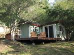Cozy, private, romantic cottage with sunset views and wild life right off your deck