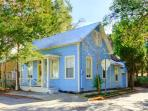Blue Bell Cottage in downtown historic St Augustine Florida