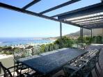 Multi-level Panacea with ocean views, sleek décor, jacuzzi, near beach