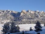 The Lumpy Ridge area of Rocky Mountain National Park is Adjacent to the Black Canyon Inn property.