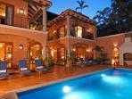 Lux 4-7 BR Hacienda w/Staff, Steps to Beautiful Beach