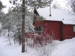 CHARMING CABIN w/ SPA & SLEDDING HILL-Near Slopes