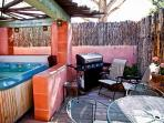 Outdoor Hot Tub Grill
