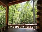 View from Hot Tub - No other cabins in sight