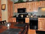Gorgeous remodeled kitchen in Red Pine condo Canyons Resort