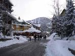 Whistler, BC., Deer Lodge, Town Plaza