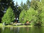 Robinson Lake Retreat - Lakefront Country Home in the Comox Valley
