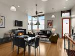 Moderne Loft Living as Form Follows Function at The West Seattle Junction!