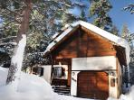 Upscale Chalet Best Backyard in TD *Hot tub Wifi
