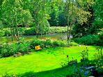 Private Waterfront Acre with River Access