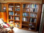 lots of books of all kinds of interest..